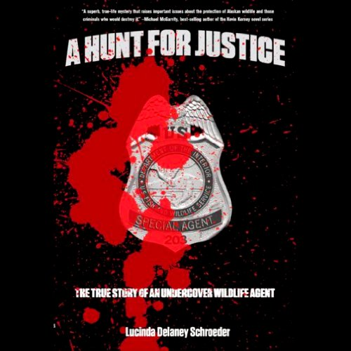 A Hunt for Justice audiobook cover art