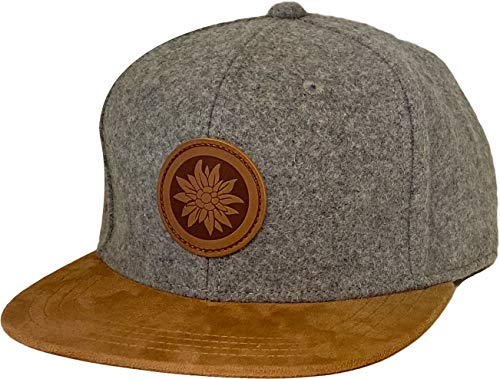 Almwelt Snapback Cap One Size Unisex Filz verstellbar