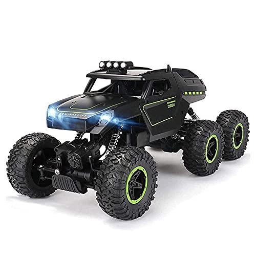 TTKD 1: 12 4x4 Crawlers All Terrain RC Car Toy, 15-20 km/h High Speed Monster Truck Charging Rock Crawlers Bigfoot Drifting Climbing Buggy Racing Cars, Semi-Truck para Todos los Adultos y niños
