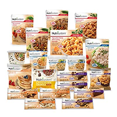 Nutrisystem? Kickstart Green Protein-Powered Kit - 5-Day Weight Loss Kit with Delicious Meals & Snacks