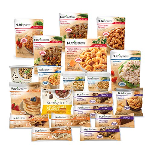 Nutrisystem® Kickstart Protein-Powered Green Kit - 5-Day Weight Loss Kit with Delicious Meals & Snacks