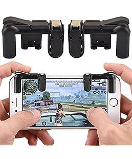 MENGZHEN - 1 par de mandos de Juegos para Disparador de Fuego, botón Aim Key L1R1 Shooter para PUBG/Cuchillos Fuera/Reglas de Supervivencia para Android