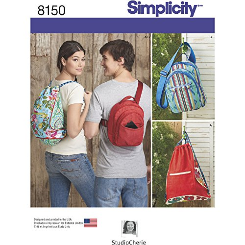 Simplicity Patterns Simplicity Creative Patterns 8150 Backpacks in Two Styles, Size: One Size (One Size)