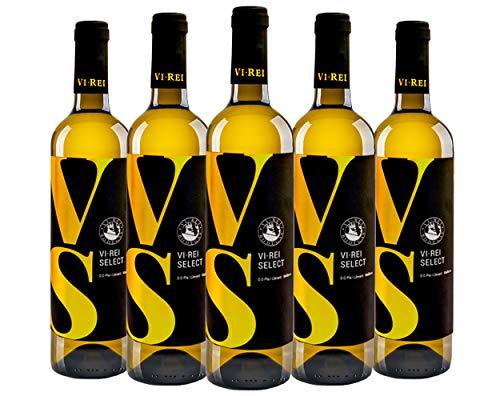 Vino Blanco Select VI REI. 6 botellas