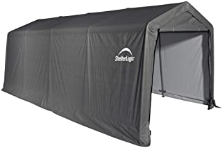ShelterLogic All-Steel Metal Frame  Instant Garage and AutoShelter with Waterproof and..
