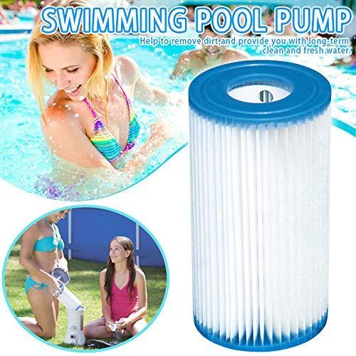 Soul hill Ersatzpatronenfilter-Portable-Pool-Pumpe Patronenfilter PVC Zubehör for29000 Schwimmbadpumpe zcaqtajro