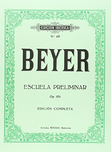 Escuela preliminar Op.101