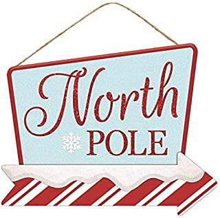 Best elf north pole sign Reviews