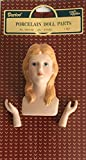 Darice Porcelain Doll Head and Hands Set - Blonde - 2.75 x 1.5 inches - 1 Set