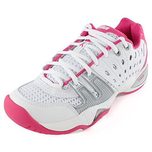 Prince T22 Women's White/Pink 7.5