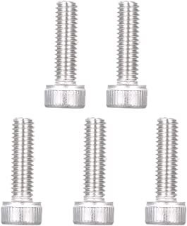 Honeytecs Stainless Steel Invisible Receiver Stud Swage End Fitting Cable Threaded Stud Terminal for 1//8 Cable Railing 5PCS