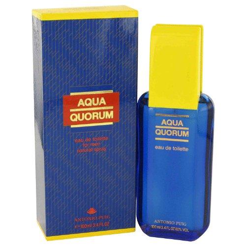 Aqua quórum by Antonio Puig edt Spray 30ml para hombres: Amazon.es: Hogar