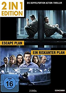 Escape Plan / Ein riskanter Plan (2 in 1 Edition, 2 Discs)