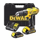 DeWalt - Taladro combinado de 18 V, 2 baterías de 1,5 AH, cargador rápido, última caja T STAK * Kit completo