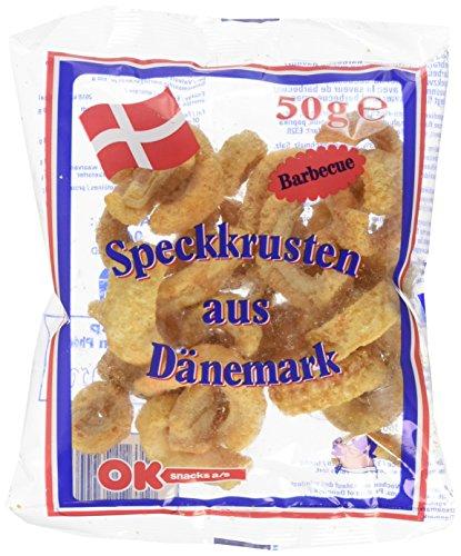 Ok Snacks Bacon Bbq Chips 50g, 24er Pack (24 x 50 g)