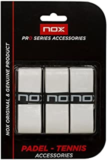 NOX Blanco Overgrip Pro, Unisex: Amazon.es: Deportes y aire ...