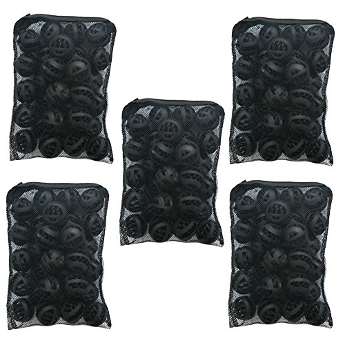 CNZ 1.25-inch Bio Ball Filter Media for Aquarium Fish Pond Waterfall Fountain (5-pack, 150pcs)