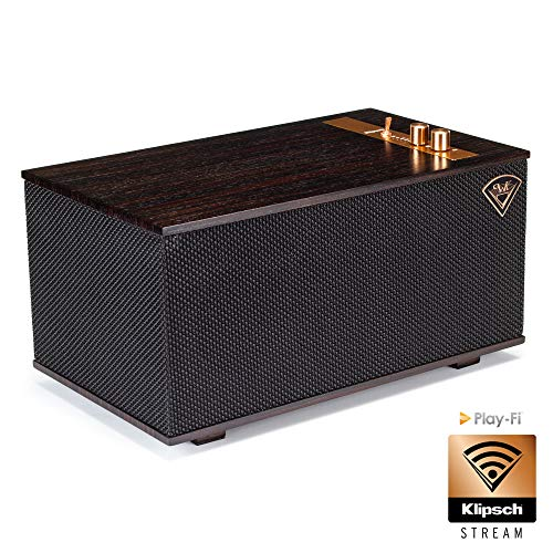 Klipsch Heritage The Three Ebony Ebenholz Multi-Room Streaming aptX Bluetooth WLAN