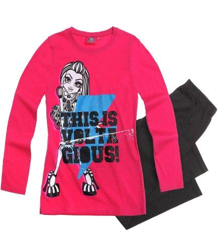 Monster High Pyjama grau (128)