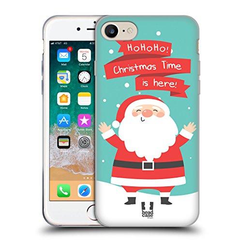 Head Case Designs Babbo Natale Cartoni di Un Felice Natale Cover in Morbido Gel Compatibile con Apple iPhone 7 / iPhone 8 / iPhone SE 2020