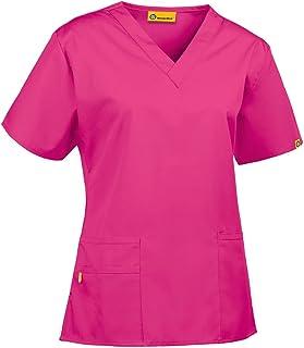 WonderWink womens Scrubs Bravo 5 Pocket V-Neck Top Scrubs Bravo 5 Pocket V-neck Top (pack of 1)