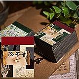 366 piezas Papel de Fondo Mezclado Scrapbook Vintage, Niños Adultos Tarjeta de Scrapbooking, Papel de Fondo Decorativo para Decorativo Scrapbooking Craft Tarjeta Haciendo, 40 x 50 mm