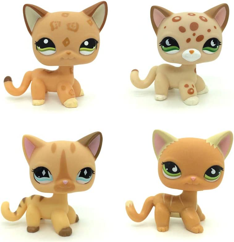 Spring new work one after another QYXM Product 4Pcs LPS Pet Shop Anim Collect Q House Cartoon