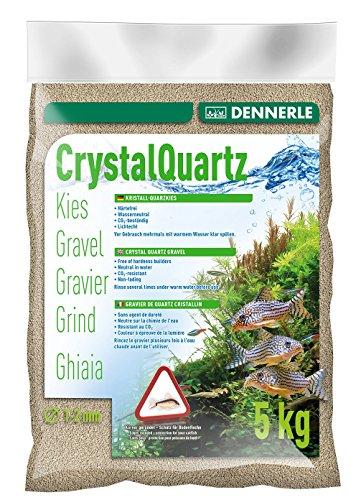 Dennerle Gravier quartz blanc naturel (1 à 2 mm) 5 kg