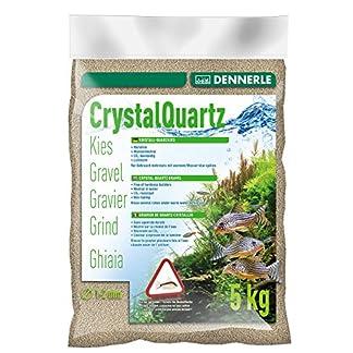 Kristall-Quarzkies Bodengrund Naturweiß
