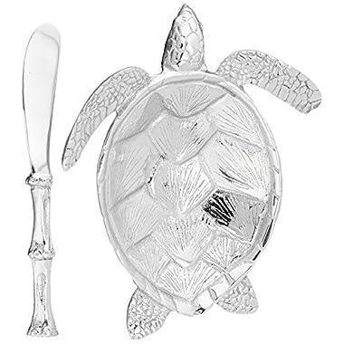 Mariposa Sea Turtle Sauce Dish Set