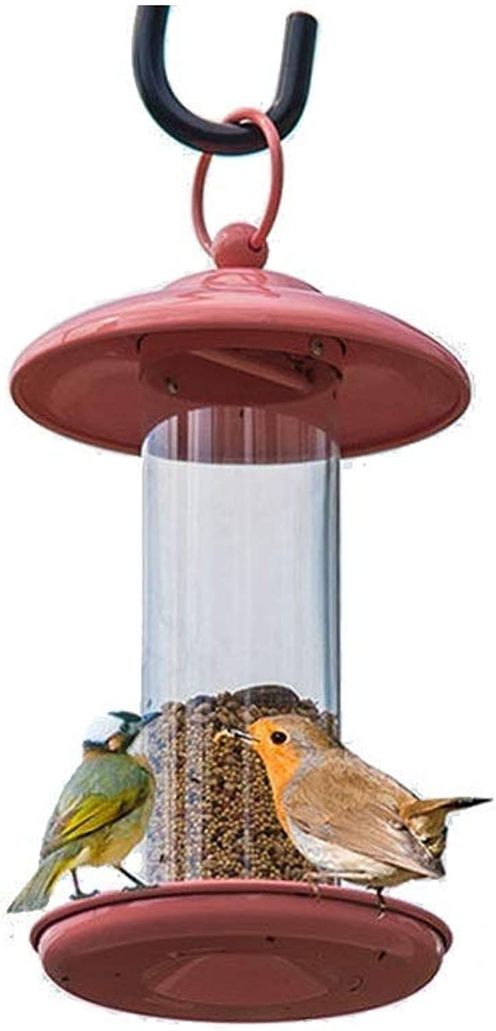 Feeder Bird Mini With Wild Bird Cage  Sunflower Seed Mixture Hanging Feed Tube