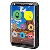 SAMVIX SMARTBASS 2.0 MP3 Player with Bluetooth, Full Touch Screen, MP3 Players Without Radio, NO Video, NO Pictures, Kosher, Option to Transfer Files from SD Card to The MP3, Voice Recorder (Black)