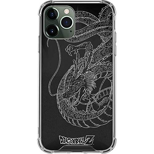 Skinit Clear Phone Case Compatible with iPhone 12 Pro Max - Officially Licensed Dragon Ball Z Negative Shenron Design