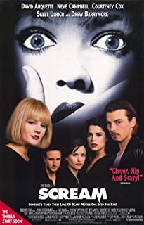 Scream - Movie Poster - 11 x 17 Inch (28cm x 44cm)