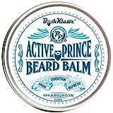 Active Prince Beard Balm Leave in Conditioner Beard Butter Moisturizer Premium Refreshing Scent 2 oz - Best Leave in Conditioner Scented Beard Balm Gift Bearded Men