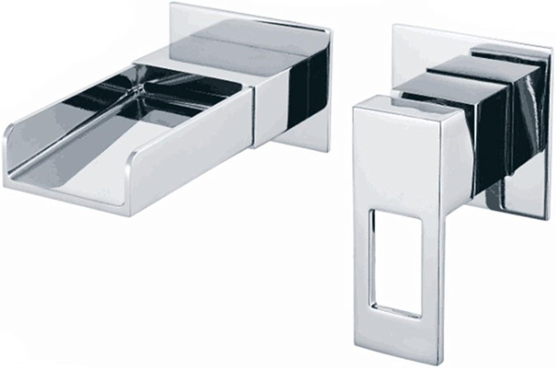 Lvsede Bad Wasserhahn Design Küchenarmatur Niederdruck Wandauslauf Aus Verchromtem Messing Für Heies Und Kaltes Waschbecken Waschtischmischer G2343