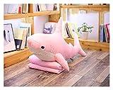 SSBH JXB - Cojín de peluche para niños (100 cm, 60 cm), color rosa