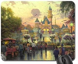 Disneyland 50th Anniversary Mouse Pad, Mousepad (Amusement Parks Mouse Pad) (Disneyland 50th Anniversary)