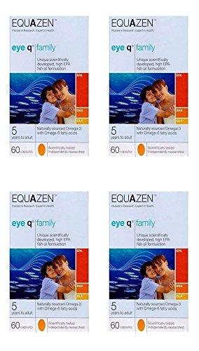 (4Pack)–Equazen Equazen Eye Q–Cápsulas | 60| 4Pack–Super Saver–ahorrar...