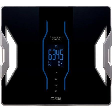 タニタ デュアルタイプ体組成計 インナースキャンデュアル スマホ対応 ブラック RD-903-BK