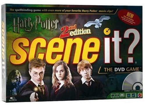 Harry Potter 2nd Edition Scene The It? Game DVD Max 45% OFF Sale