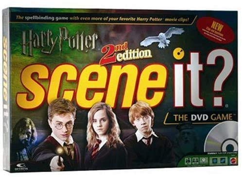 Scene It? Harry Potter - 2nd Edition DVD Trivia Board Game with...