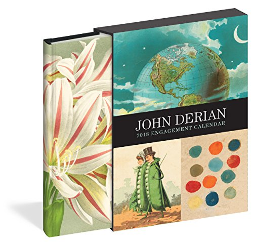 John Derian 2018 Calendar