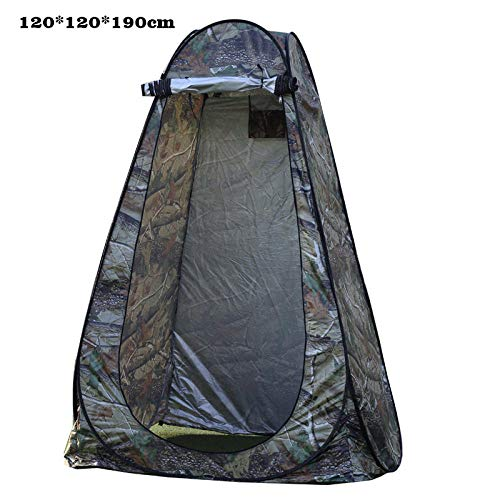 LIKEJJ Rain Shelter Tent,Outdoor privacy tent shower tent changing tent camping waterproof portable toilet tent-Dark_1.2 * 1.2 * 1.9M