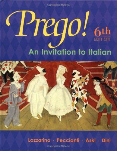 Prego! An Invitation to Italian (Student Edition)