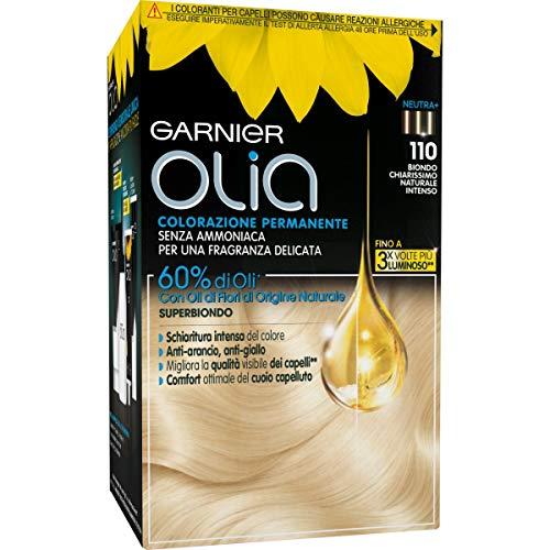 Garnier Olia Colorazione Permanente, 110 Biondo Chiarissimo