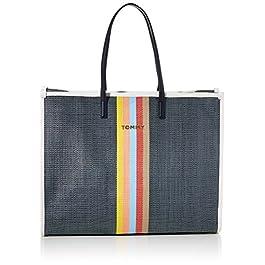 Tommy Hilfiger Beach Bag Raffia, Cabas femme, Beige (Natural), 1x1x1 cm (W x H L)