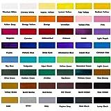 Mont Marte Acrylfarben Set Premium – 48 Stück, 36ml Tuben – Ideal für Acrylmalerei – Brillante Lichtechte Farben mit großer Deckkraft – Perfekt geeignet für Anfänger, Profis und Künstler - 6