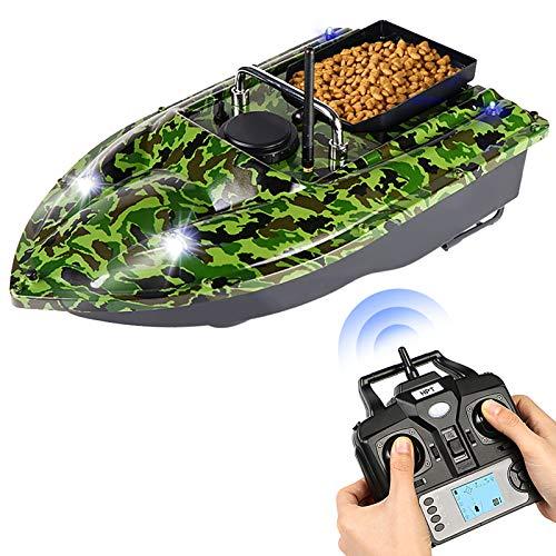 Lixada Barco de Cebo de Pesca GPS con Contenedores de Cebo único Barco de Cebo Automático con Control Remoto