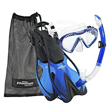 Phantom Aquatics Speed Sport Junior Mask Fin Snorkel Set